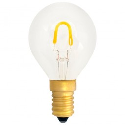 EiKO Deco Leuchtmittel G45 LED E14 Filament 0,6W warmweiß 2400K 50lm 230V