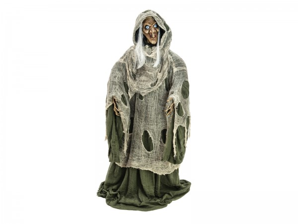EUROPALMS Halloween Hexe, grün, 145x70x66cm