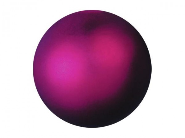 EUROPALMS Dekokugel 3,5cm, pink, metallic 48x