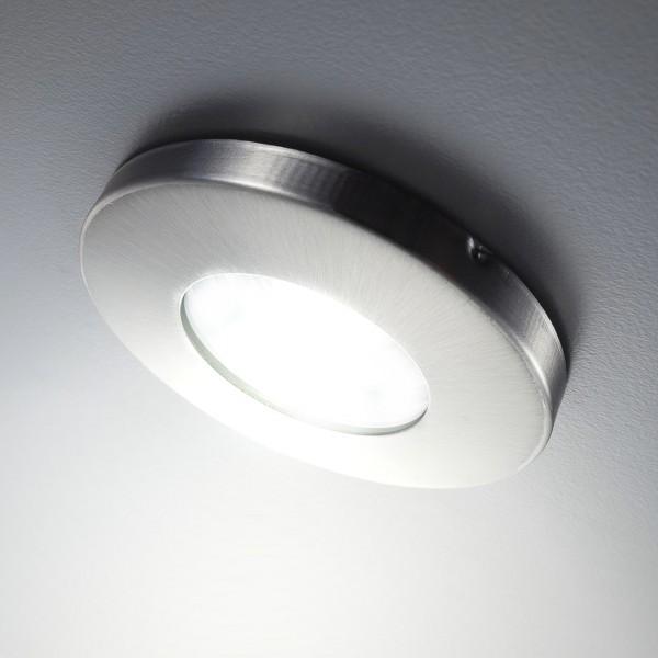 Dimmbarer LED Einbaustrahler 5W 3000K 380lm 68mm IP44