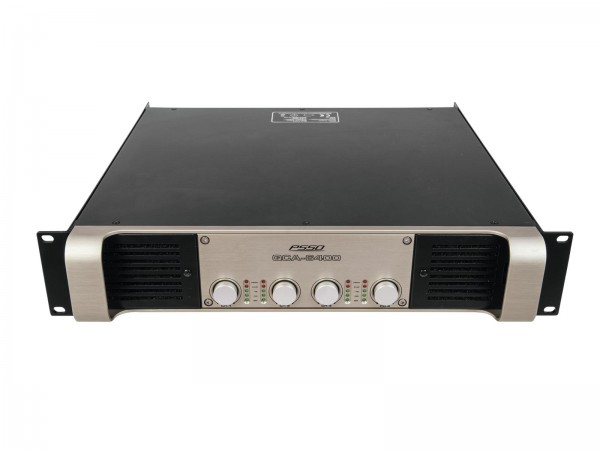 PSSO QCA-6400 4-Kanal-Endstufe SMPS