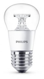 Philips E27 LED Tropfen 5.5W 470lm warmweiß klar