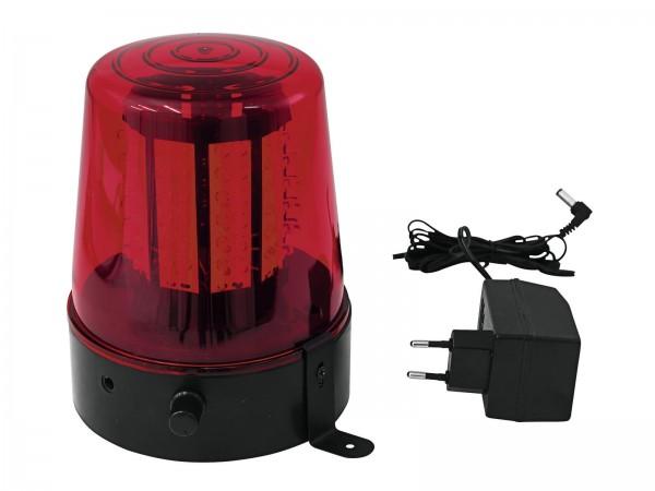 EUROLITE LED Polizeilicht 108 LEDs rot Classic