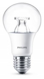 Philips E27 LED Lampe WarmGlow 8.5W 806lm warmweiß dimmbar klar