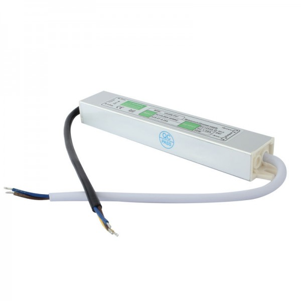 LED Trafo 12V 20W 1,6A IP67