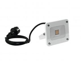 eurolite LED Außenstrahler slim 10W warmweiß IP65
