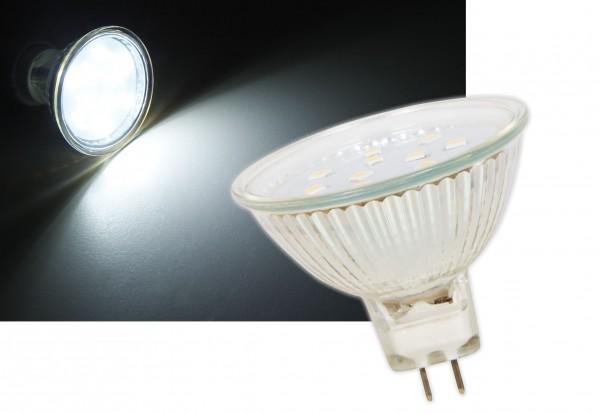 Glas GU5,3 LED 3W 110° Leuchtmittel neutralweiß