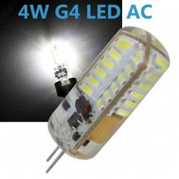 LED G4 4W 12V AC/DC Leuchtmittel kaltweiß (Spot, Strahler, Halogen)