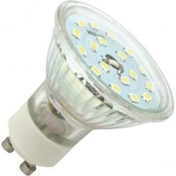 SeKi GU10 LED Reflektor-Leuchtmittel 3W kaltweiß 350lm