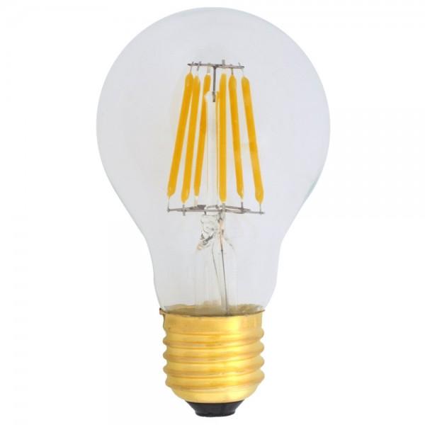 EiKO Dimmbare A19 LED E27 Filament 7W warmweiß 2700K 800lm 230V