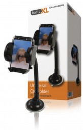 basicXL Universal KFZ Handy Halterung mit Schwanenhals