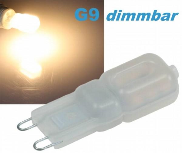 LED G9 dimmbar 3W warmweiß 230V