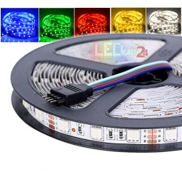 Flex LED RGB Strip SMD 5050 5m 12V IP20