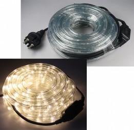 10m LED Lichtschlauch 240 LED 15W 230V warmweiß IP44