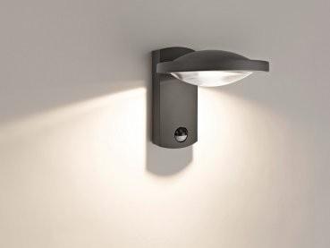 philips led aussenleuchte ledino freedom mit sensor 3w warmwei 17239 93 16 led. Black Bedroom Furniture Sets. Home Design Ideas