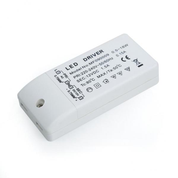 LED Trafo 18W 12V 1,5A Halogenersatz-Transformator