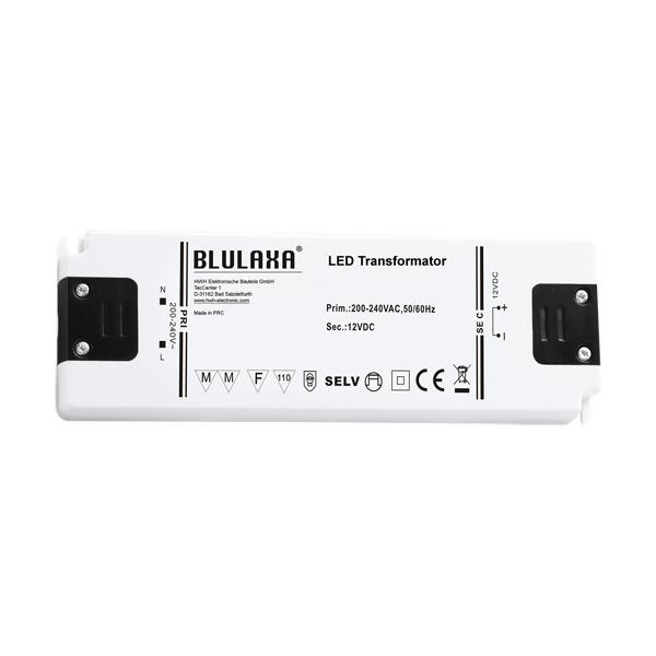 Ultraflacher LED Trafo 0,5 - 6W für 12V DC LED Lampen