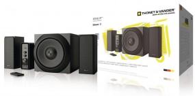Thonet & Vander 2.1 Lautsprecher Set Rätsel BT 72W Bluetooth