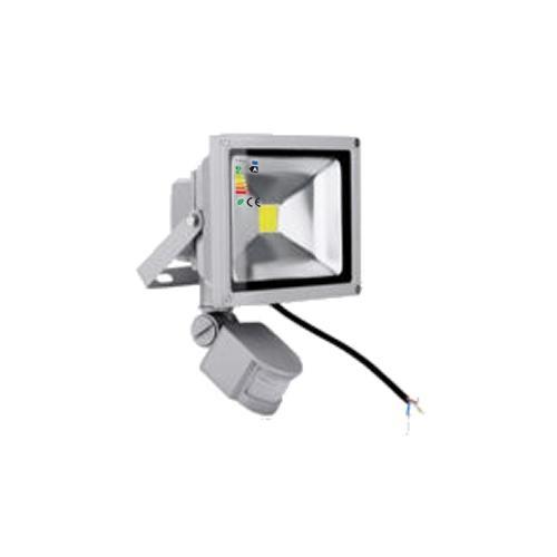 LED Fluter 230V 20W COB High Power Strahler mit Bewegungsmelder IP65