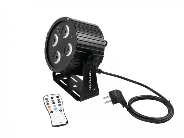 LED PS-4 HCL RGBAW UV Spot DMX mit Fernbedienung