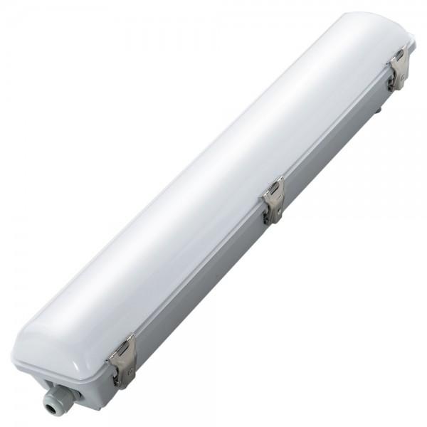 EiKO LED Feuchtraum-Wannenleuchte Tri-Proof 60cm 24W 2290lm 5000k IP66