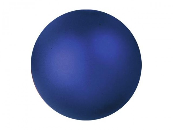 EUROPALMS Dekokugel 3,5cm, dunkelblau, metallic 48x