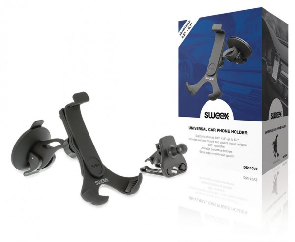 sweex Universal KFZ Handy-Halter für Fenster und Lüftung