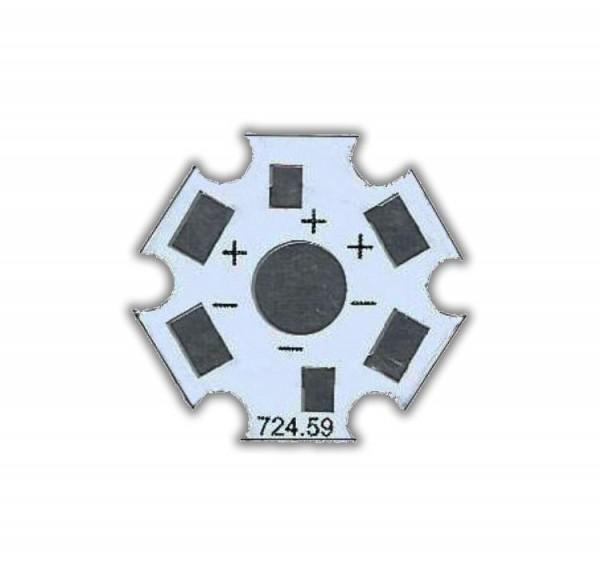 PCB Aluminium Stern Platine für 3W Chips