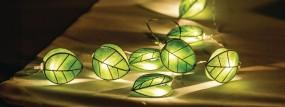 HQ LED Lichterkette Blatt 10 Lichter batteriebetrieben