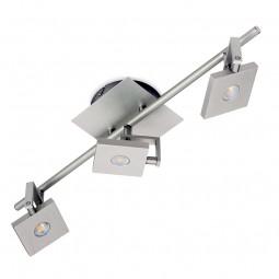 LED Deckenleuchte Spot KLH3 15W COB neutralweiß edelstahl gebürstet
