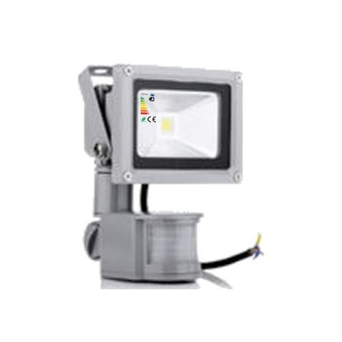 LED Fluter 230V 10W High Power Strahler mit Bewegungsmelder IP65