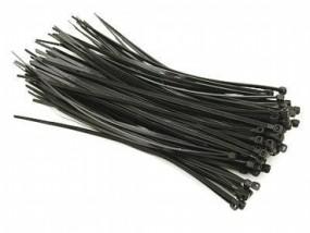 100x Kabelbinder 200mm x 2,5mm schwarz