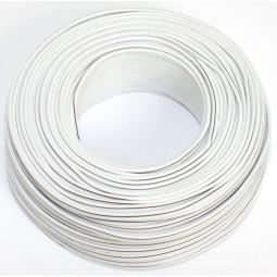 50m Lautsprecherkabel 2x 0,50mm weiß