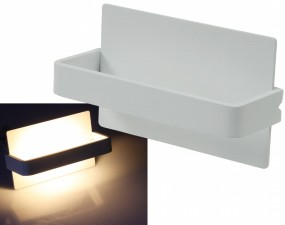 LED Wandleuchte Indirection warmweiß 7W weiß