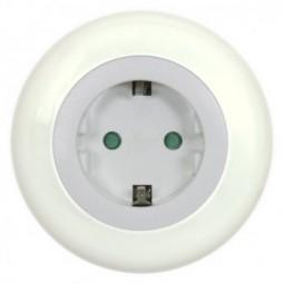 Ranex LED Nachtlicht mit Steckdose 230V und Dämmerungssensor