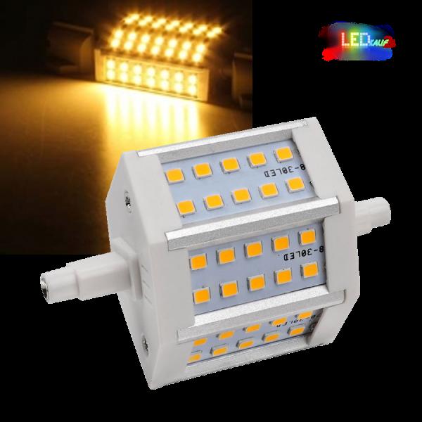 LED Halogenstab R7S 4W warmweiß 78mm Ersatz