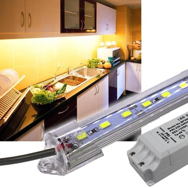 LED Unterbauleuchte 230V mit Trafo - LED Beleuchtung Küche