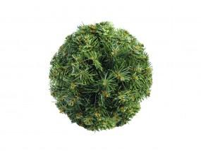 EUROPALMS Tannenkugel, grün, 25cm