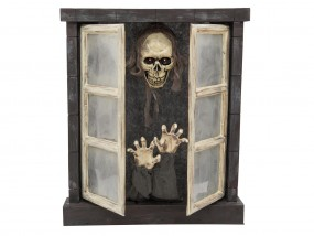 EUROPALMS Halloween Horror-Fenster 85cm