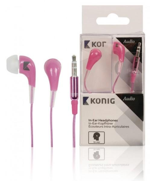 König Kopfhörer 3,5mm Pink