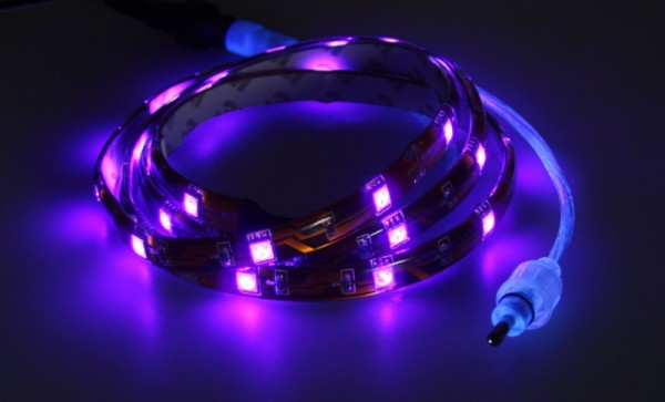 """1m LED Strip """"CLS-100UV"""" IP65 Schwarzlicht"""