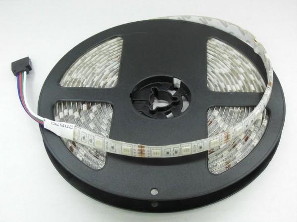 Flex LED RGB Strip SMD 5050 5m 12V wasserdicht IP65