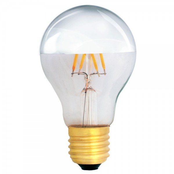 EiKO Kopfspiegellampe A19 LED E27 Filament 4W warmweiß 2700K 400lm 230V