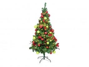 EUROPALMS Premium-Tannenbaum, dekoriert, 180cm