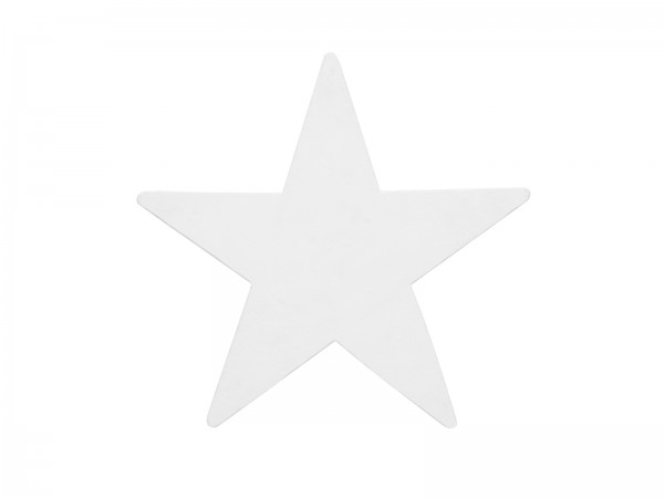 EUROPALMS Silhouette Stern, weiß, 58cm