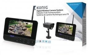 König Digitales Funkkamera-Set 2.4 Ghz