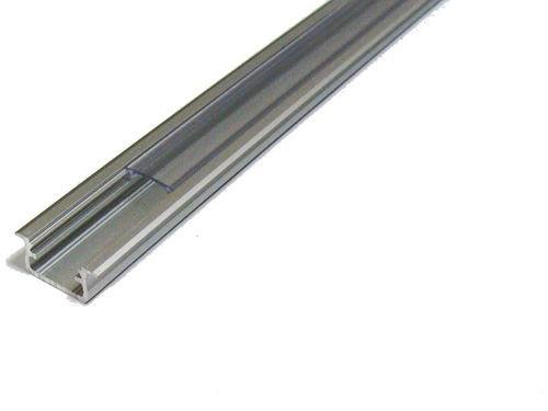 1m Montageprofil mit Abdeckung für LED Strips zum einlassen