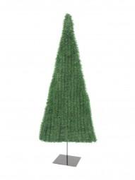 EUROPALMS Tannenbaum, flach, hellgrün, 120cm