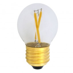 EiKO Dimmbares G45 LED E27 Filament 2W warmweiß 2700K 250lm 230V