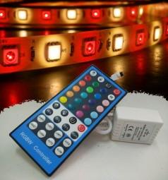 5m RGBWW Strip Set inkl. Controller und 5A Netzteil